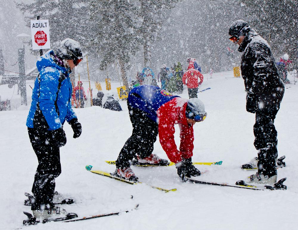 Vikend programi škole skijanja